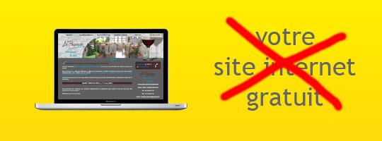 La création de site internet doit être fait avec sérieux