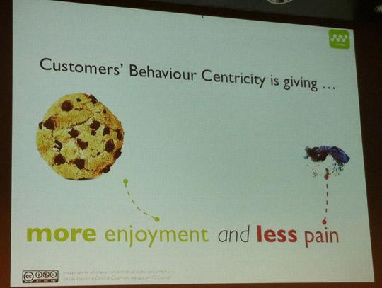 Un client voudra sur un site internet plus de plaisir et moins de contrainte.