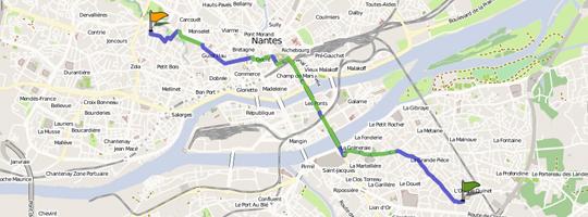 Exemple de cartographie OpenStreetMap