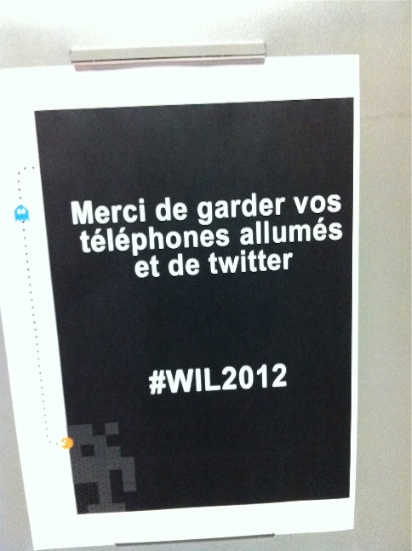 Twitter à WIL2012