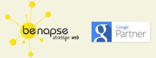 We're Google partners \o/
